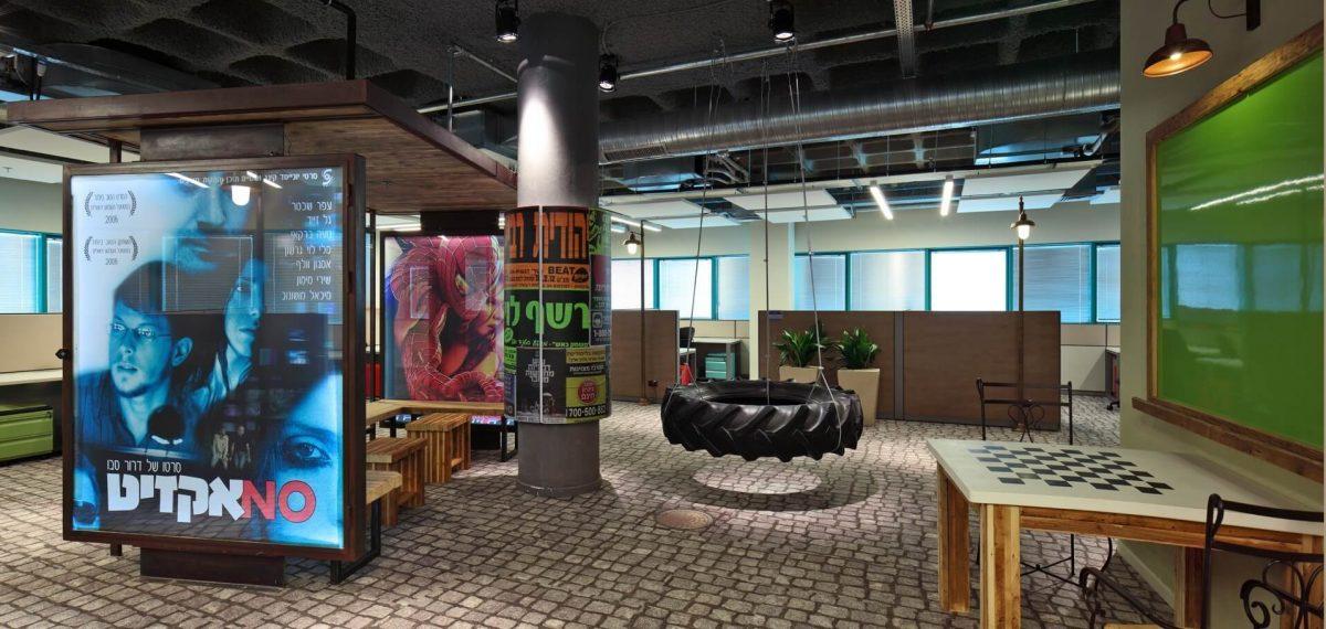 Google's kantoor in Haifa, Israël (Setter Architects, foto door Uzi Porat)