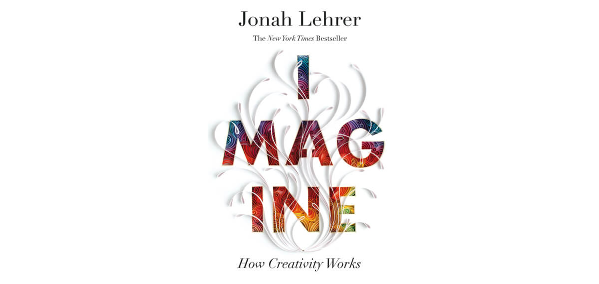 De cover van Jonah Lehrer's boek 'Imagine'