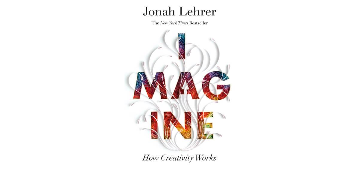 De cover van Jonah Lehrer's boek 'Imagine'