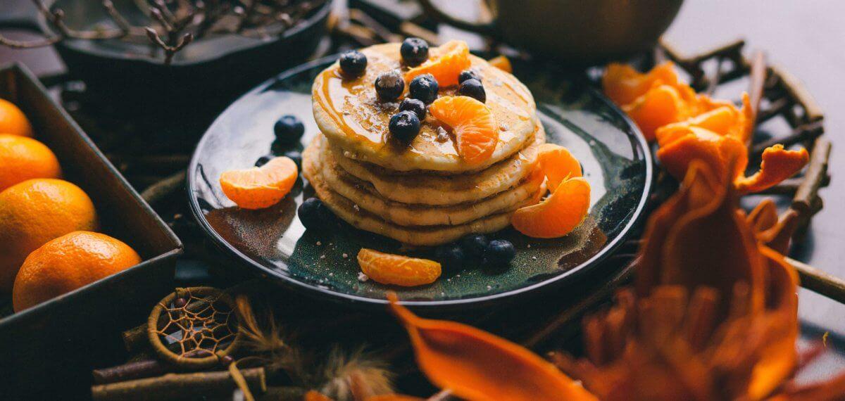 Gezonde lunch _pancakes