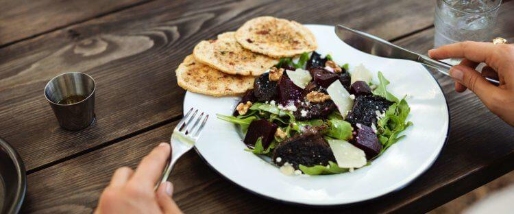 Gezonde lunch _salade