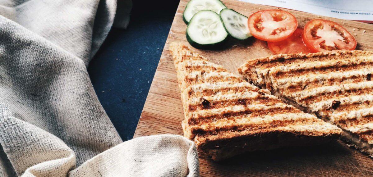 Gezonde lunch _tosti