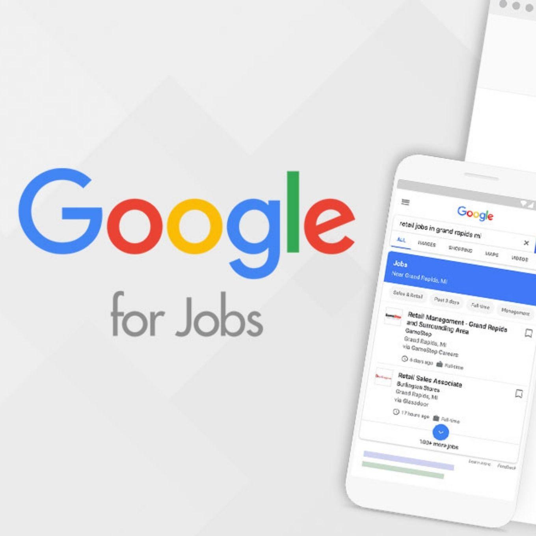 Google for Jobs vacature overzicht
