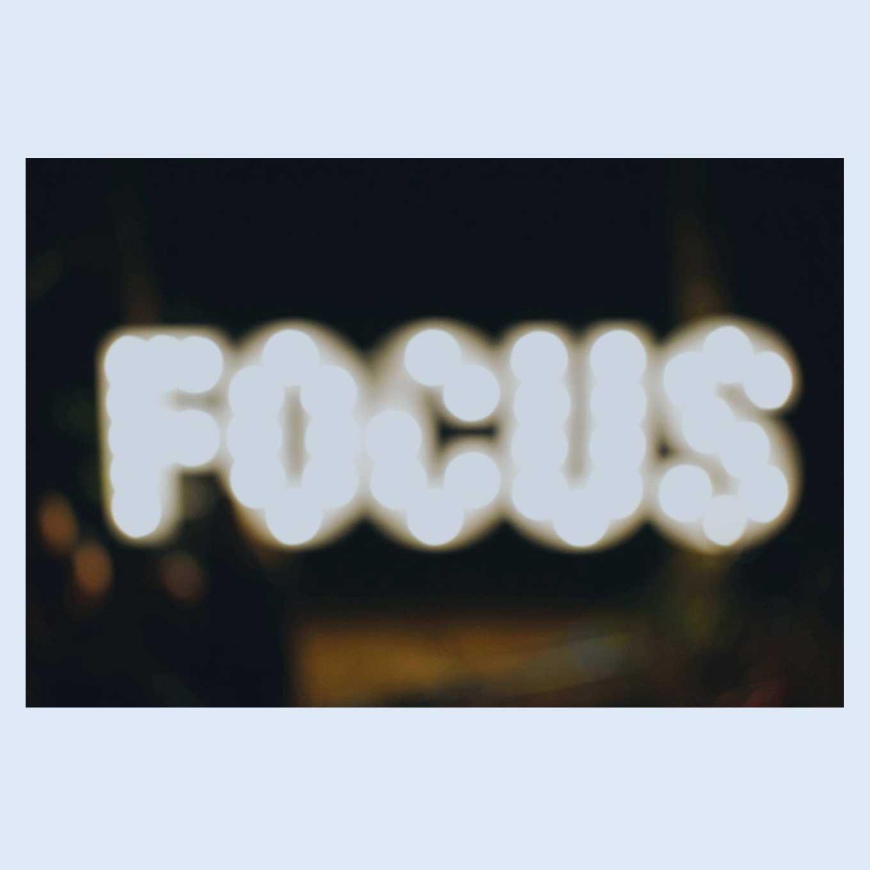 focus op je werk